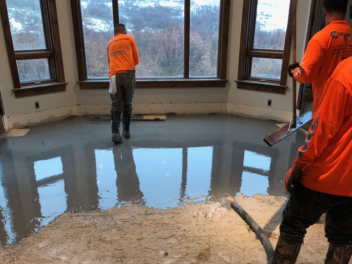 Underlayment Systems Gypsum Soundmat Floor Leveling